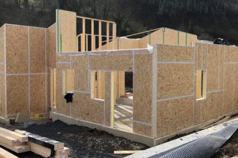 Casa madera en Areatza